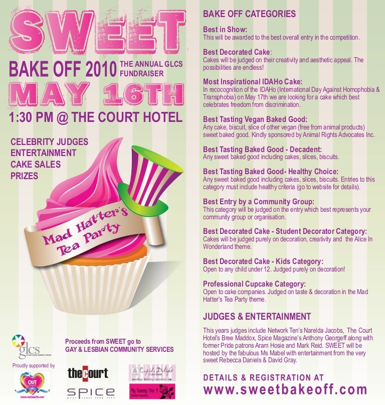 baking competition flyer pike productoseb co