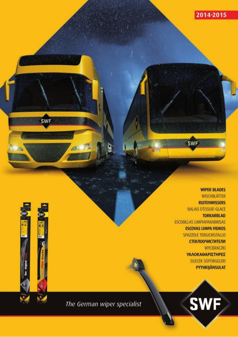 Swf Wiper Systems For Trucks Coaches Lcvs 2014 2015 Catalogue 9532 Scania Irizar Wiring Diagram