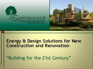 Shelterwood Homes