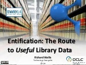 Entification: The Route to 'Useful' Library Data