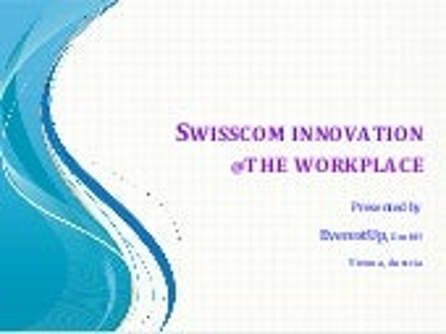Swisscom Innovation