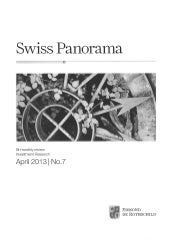 Swiss Panorama - Rothschild - Bi-monthly Review No. 7 April 2013