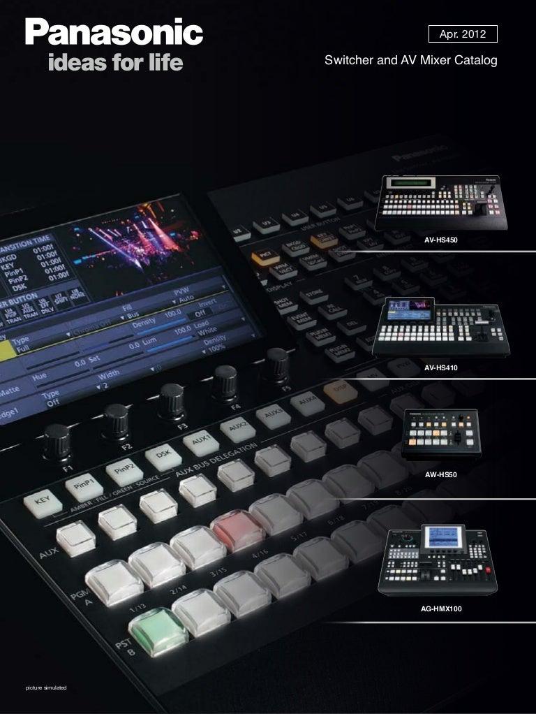 switchermixer 150716130124 lva1 app6892 thumbnail 4?cb=1437051715 panasonic av hs450 aw hs50n mixer brochure  at bayanpartner.co