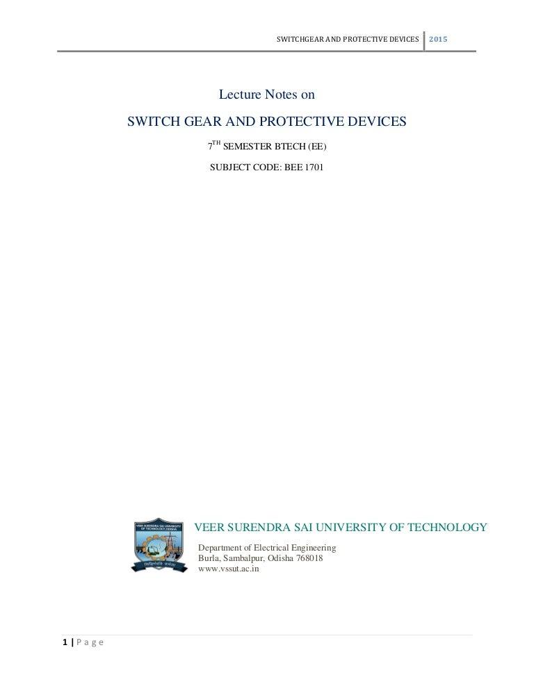 sunil s rao switchgear and protection pdf free