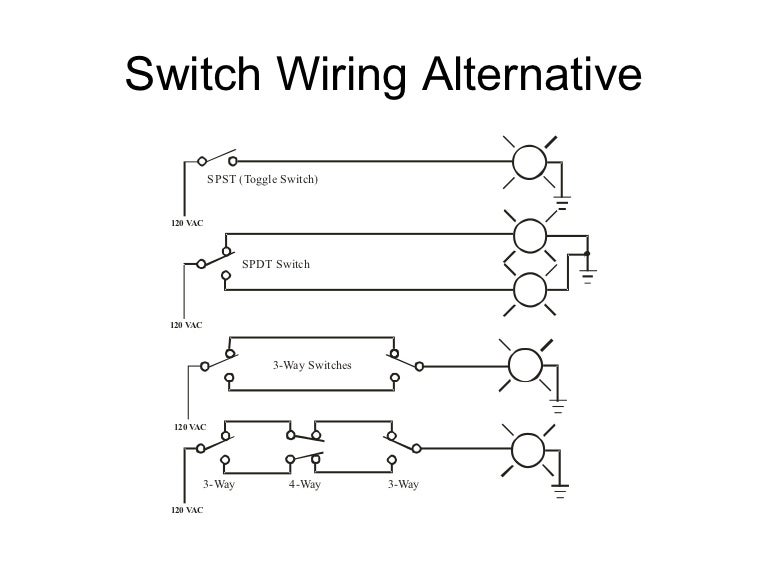 Switch wiring alternative