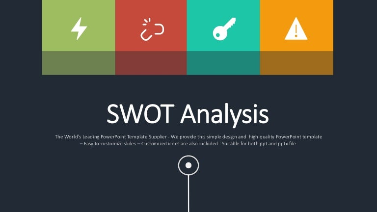 swot analysis sample presentation slides