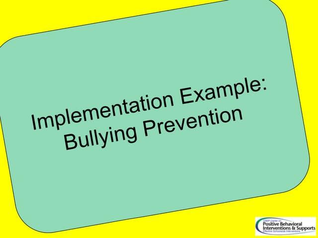 SWPBS and Bullying PPT G Sugai Perth 1 July 2011