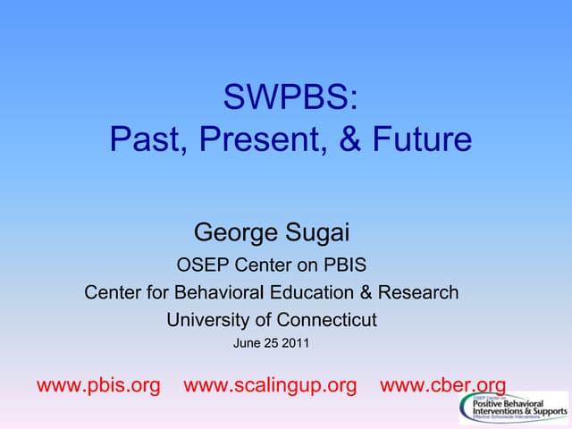 Swpbs past present future