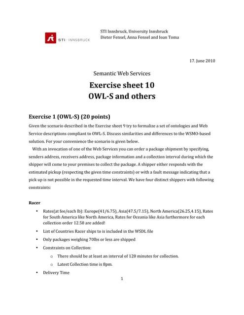 Sws exercise10