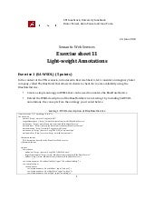 Sws exercise11