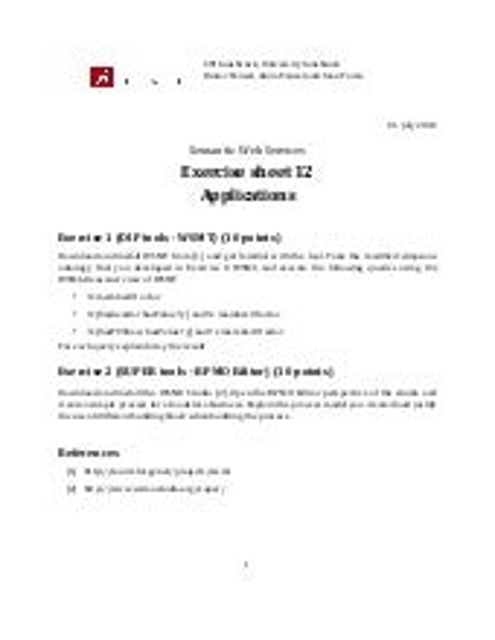 Sws exercise12