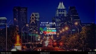 SXSW 2018 - Top Trends