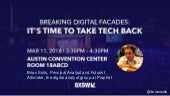 The Dark Side of Social Media: It's Time to Take Tech Back by Brian Solis, SXSW Keynote