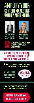 Amplify Your Content Marketing with Earned Media [Infographic] - SXSW 2014
