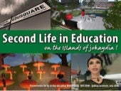 Education in Second Life - on the Islands of jokaydia!