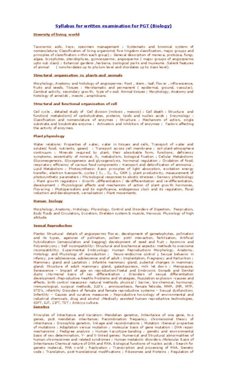 Großzügig Anatomy And Physiology Syllabus High School Galerie ...
