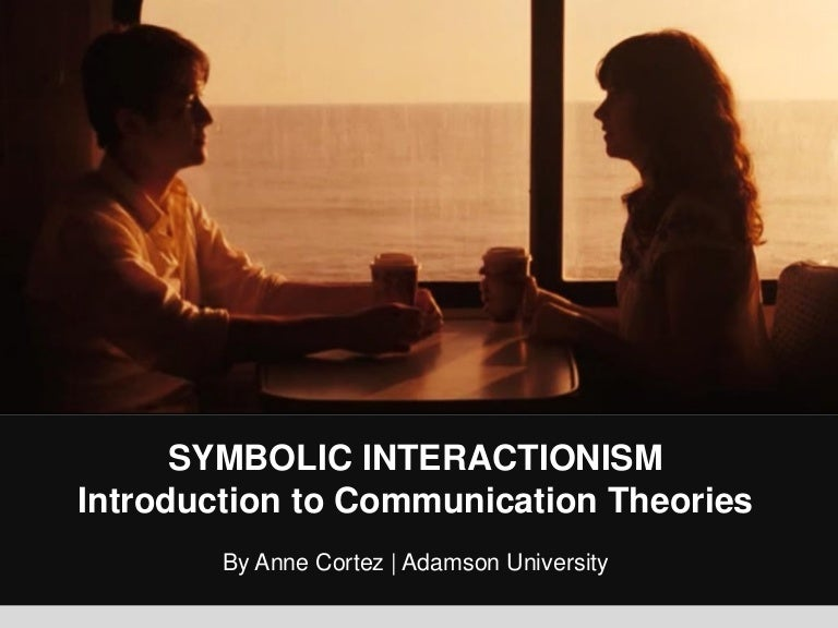 Symbolic Interactionism By George Herbert Mead