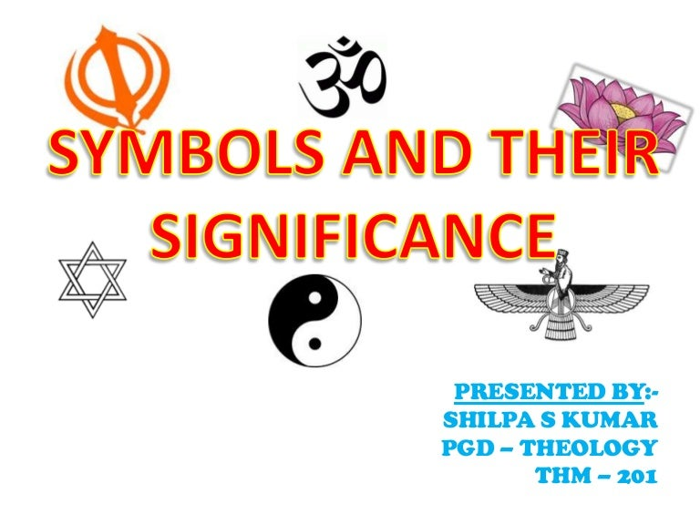 Religious Symbols And Their Significance
