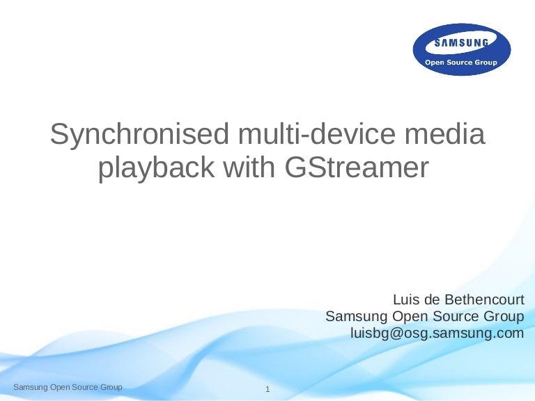 Synchronised Multidevice Media Playback with Gstreamer