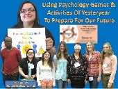 Using Psychology Games and Activities of Yesteryear to Prepare for our Future – Synergy 2013 Conference, Schnecksville PA, October 5, 2013 Photo Album