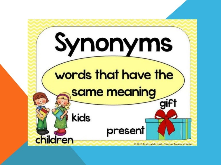 Synonyms (1)