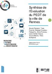 Synthese evaluation pedt rennes