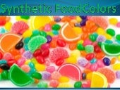 Synthetic food colors presentation