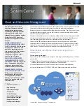 Microsoft System Center 2012 overview datasheet