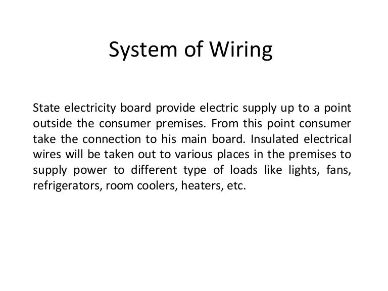 Astounding Types Of Wiring Ppt Types Of Wiring Pdf Googlea4 Com Wiring 101 Archstreekradiomeanderfmnl