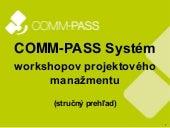 Systém projektového manažmentu - workshopy