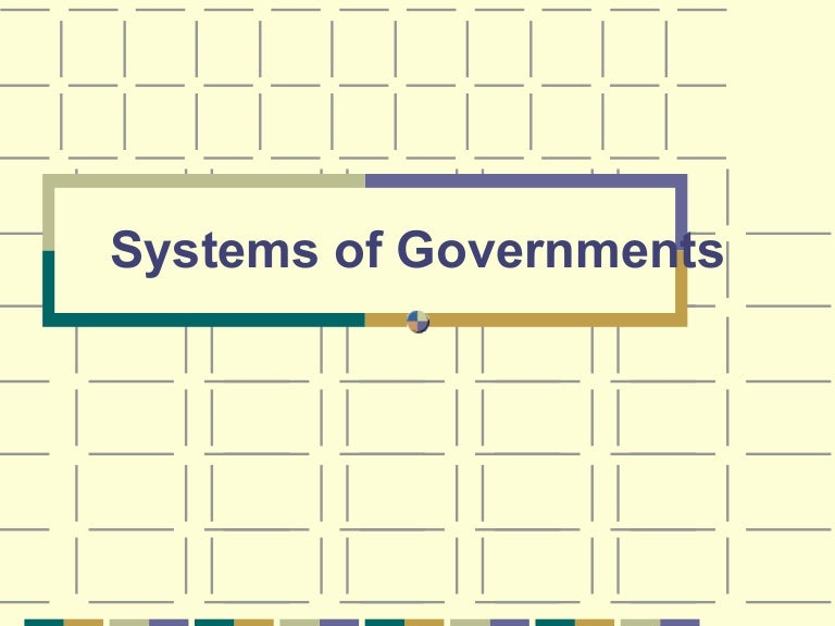 What is the confederal system?