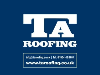 TA Roofing - Roofers in York