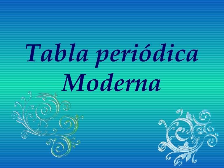 Tabla peridica moderna urtaz Gallery