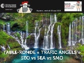 Table ronde : SEO vs SMO vs SEA