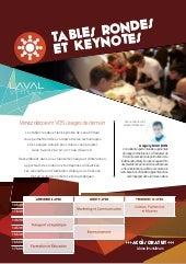 Les Tables rondes de Laval Virtual 2015