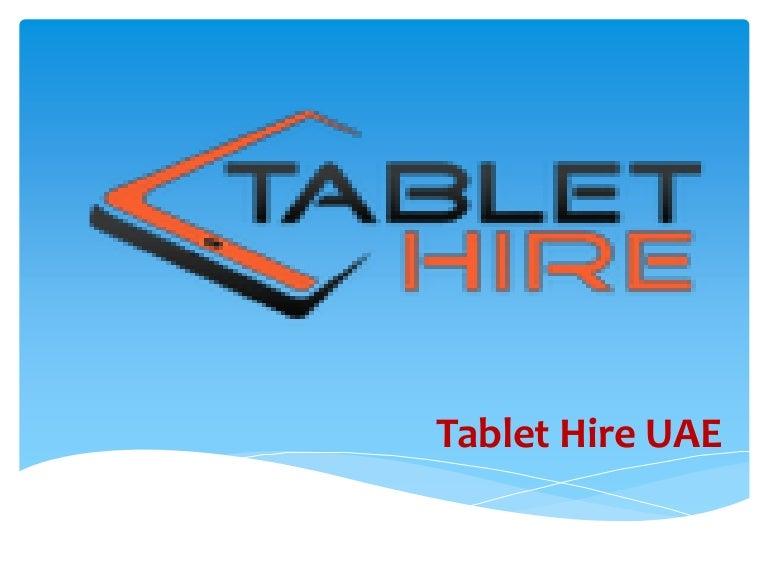 Tablet Hire UAE