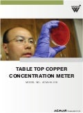 Table Top Copper Concentration Meter by ACMAS Technologies Pvt Ltd.
