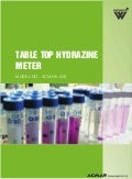 Table Top Hydrazine Meter by ACMAS Technologies Pvt Ltd.