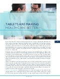 Tablets are Making Healthcare Better