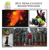 2011 News Contest Winners Tabloid