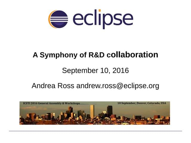 A Symphony of R&D Collaboration
