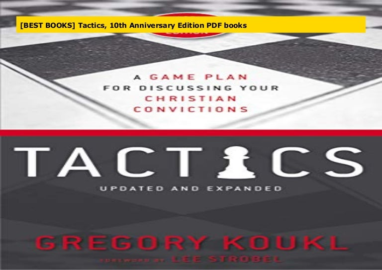 Best Books Tactics 10th Anniversary Edition Pdf Books
