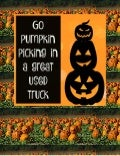 Take an Orlando used truck pumpkin picking!