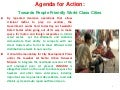 Part 3 : Agenda for Action : Towards People Friendly World Class Cities