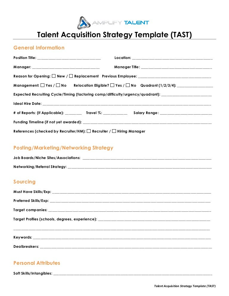 Acquisition Plan Template - Apigram.Com
