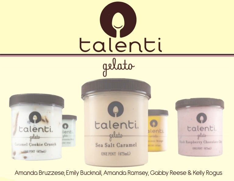 Talenti Gelato Advertising Plan