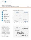 India Logistics and Supply Chain Management | Talent Pool Report