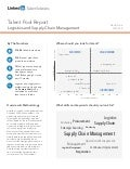 North Asia Logistics and Supply Chain Management | Talent Pool Report