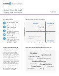 North Asia Trading and Investment | Talent Pool Report