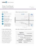 South East Asia Trading and Investment | Talent Pool Report